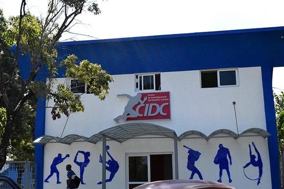El encuentro tuvo lugar en el Centro de Investigaciones del Deporte Cubano. Foto: Cinthya García Casañas/ Cubadebate.