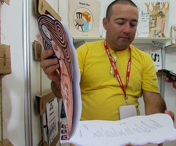 Jorge Luis Dorrego Almoza, trabajador de la editorial. Foto: Cinthya García Casañas/ Cubadebate.