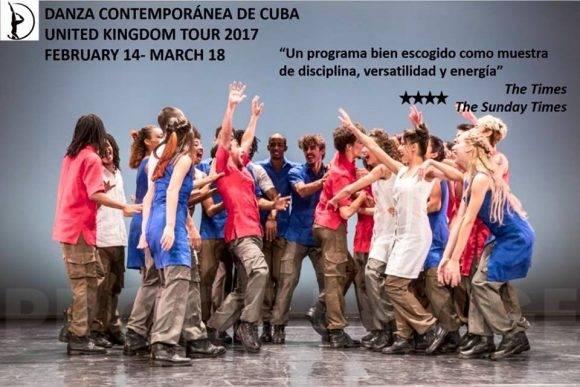 Imagen tomada del perfil en Facebook de Danza Contemporánea de Cuba.