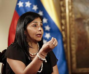 Delcy Rodríguez: Injerencismo de la OEA contra Venezuela fue derrotado