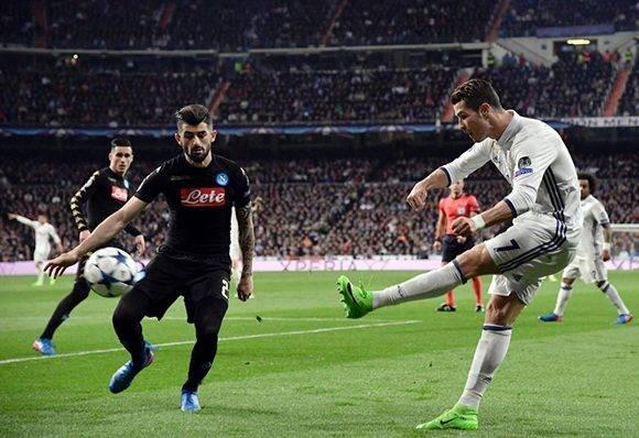 Cristiano Ronaldo jugó gran partido en la creación de juego, pero no tuvo suerte con sus remates. Foto: Javier Soriano/ AFP.