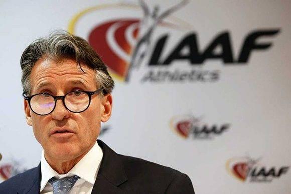El presidente de la IAAF, Sebastian Coe, ratificó la sanción a los atletas rusos por dopaje. Foto: EFE.