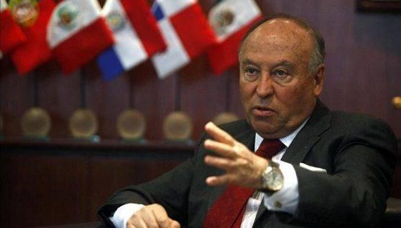 Enrique García, presidente de la CAF. Foto: EFE