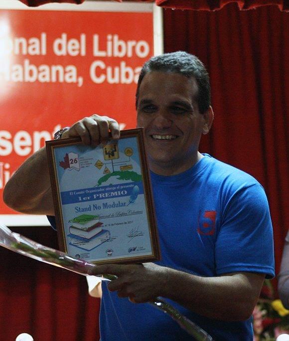 La Organización Nacional de Bufetes Colectivos obtuvo el Primer Premio en Stand No Modular. Foto: José Raúl Concepción/ Cubadebate.
