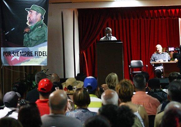 La Clausura de la XXVI Feria Internacional del Libro tuvo lugar en la Sala Nicolás Guillén de la Fortaleza San Carlos de la Cabaña. Foto: José Raúl Concepción/ Cubadebate.