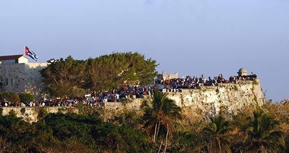 Una Fortaleza de libros. Foto: José Raúl Concepción/ Cubadebate.