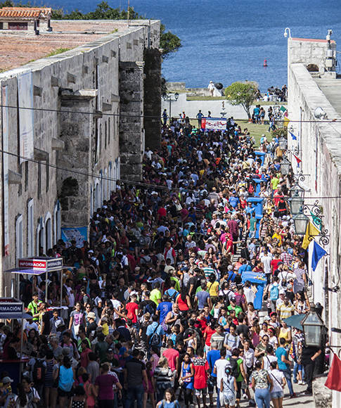 Buena jornada, buen calor. Foto: L Eduardo Domínguez/ Cubadebate