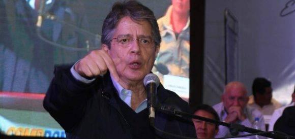 Guillermo Lasso. Foto tomada de El Telégrafo.
