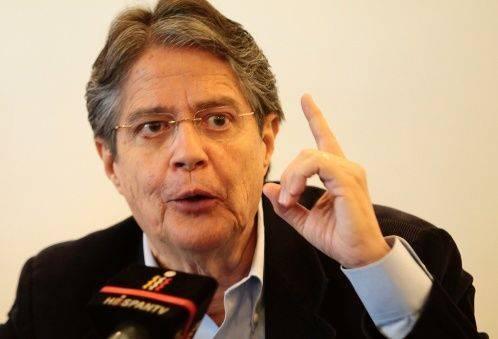 Guillermo Lasso. Foto: EFE.