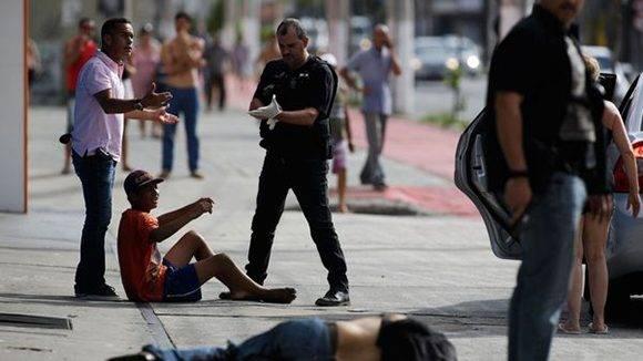 Al menos 62 personas han muerto en condiciones violentas en Vitória, capital del estado brasileño de Espírito Santo. Foto: AP
