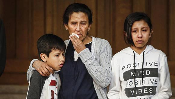 Jeanette Vizguerra vive en los Estados Unidos desde hace 20 años, tres de sus hijos nacieron en ese país, pero aun así quieren deportarla. Foto: Getty Images.