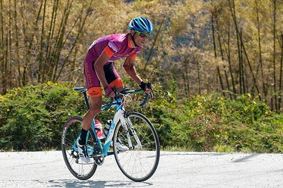 José Mojica, de Artemisa, pedalea durante la 7ma etapa Ciego de Ávila-Topes de Collantes (167 km) del IV Clásico Nacional de Ciclismo de ruta, el lunes 20 de febrero de 2017. Foto: Calixto N. Llanes/ Juventud Rebelde