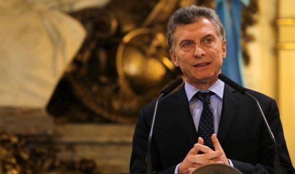 Mauricio Macri. Foto tomada de Desde Caaguazú.