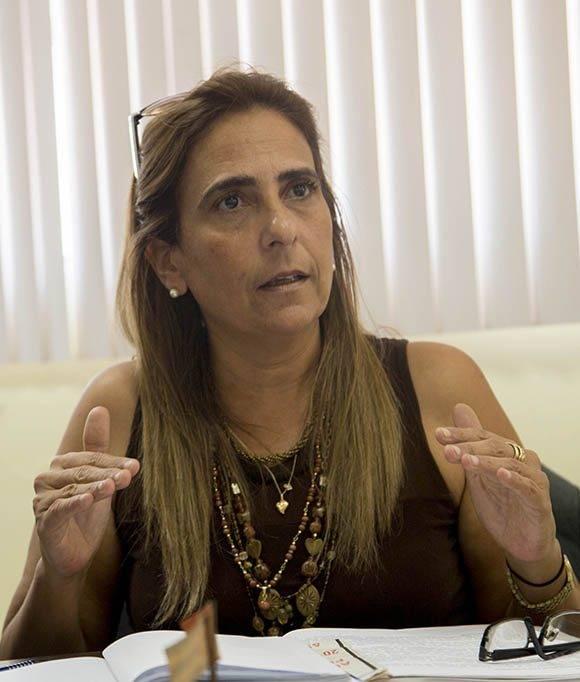 Meisi Bolaños, viceministra de Finanzas y Precios. Foto: Ismael Francisco/ Cubadebate.