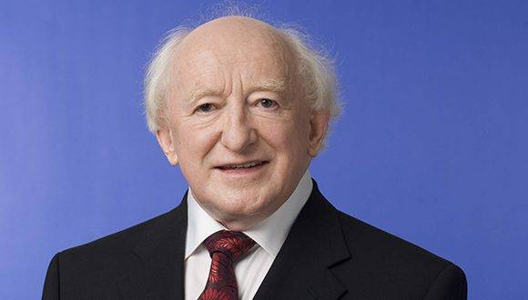 Presidente de Irlanda visitó zona veredal de las Farc