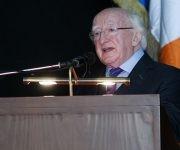 Michael Higgins impartió la conferencia magistral Relaciones entre Irlanda, Cuba y el mundo latino. Foto: Ladyrene Pértez/ Cubadebate.