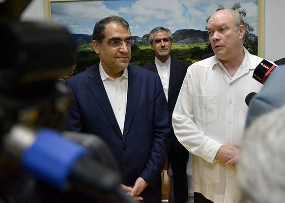 Qazizadeh Hashemi anunció la firma próximamente de otros 10 convenios. Foto: Abel Rojas/ Juventud Rebelde