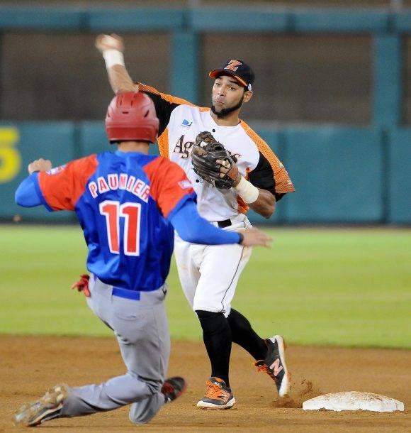 La Aguilas de Zulia derrotaron a los Alazanes de Granma en la Serie del Caribe, 4 de febrero de 2017. Foto: Ricardo López Hevia / Granma / Cubadebate