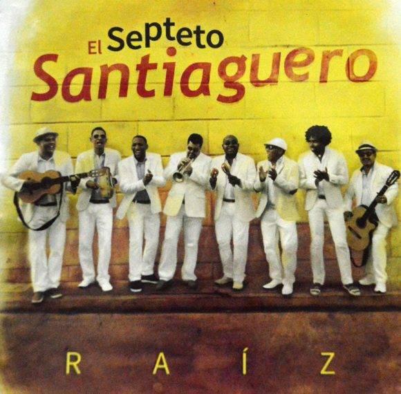 La portada del disco Raíz, del Septetp Santiaguero. Foto. Marianela Dufflar / Cubadebate