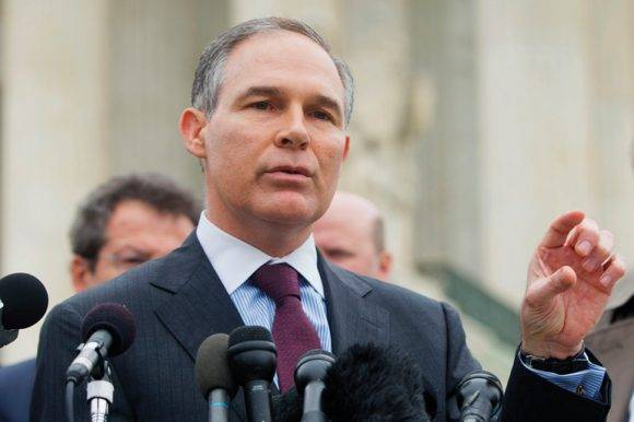 Scott Pruitt. Foto tomada de Governing magazine.