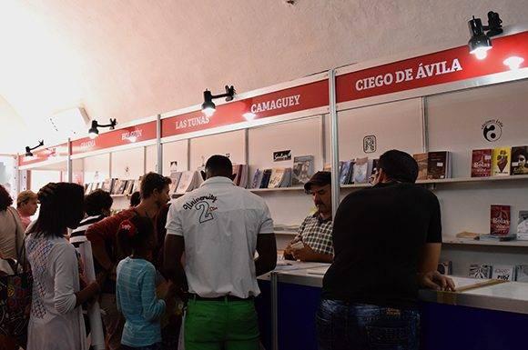 Actualmente hay 22 editoriales que pertenecen al Sistema de Ediciones Territoriales, asegura Sánchez. Foto: Cinthya García Casañas/ Cubadebate.