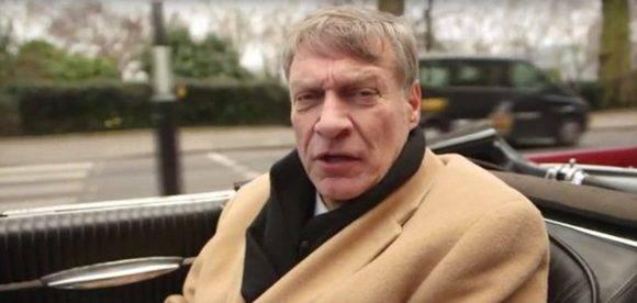 Ted Malloch, quien debe ser el futuro embajador de Estados Unidos ante la Unión Europea. Foto: BBC.