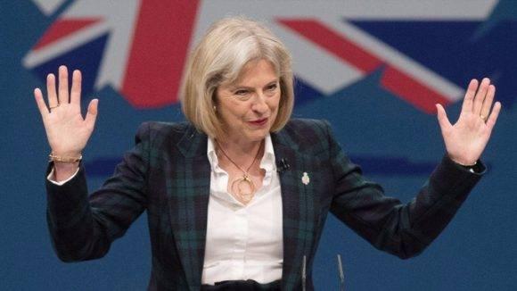 Theresa May. Foto tomada de Despierta Info.