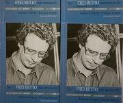 Título Frei Betto, una biografía, presentado en la sala Nicolás Guillén, durante la XXVI Feria Internacional del Libro de La Habana, en la fortaleza San Carlos de La Cabaña, el 17 de febrero de 2017. ACN FOTO/Rafael FERNÁNDEZ ROSELL/sdl