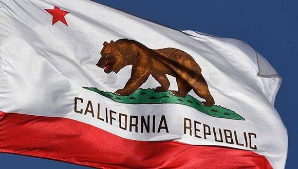 Imagen de la bandera que tendría esta supuesta República de California. Foto: Mark Ralston.