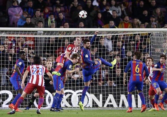 Con el 1-1 conseguido en el Camp Nou el FC Barcelona accede a su cuarta final consecutiva de Copa del Rey. Foto: Manu fernández/ AP.