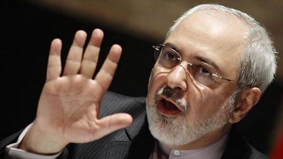 El canciller iraní, Mohamad Yavad Zarif, durante una entrevista con CNN. Foto: Hispantv.