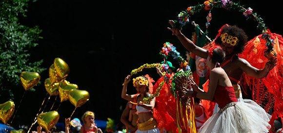 """El carnaval de Río de Janeiro, debido a los desaciertos del gobierno de Temer, se ha convertido en una """"fiesta política"""". Foto: AFP."""