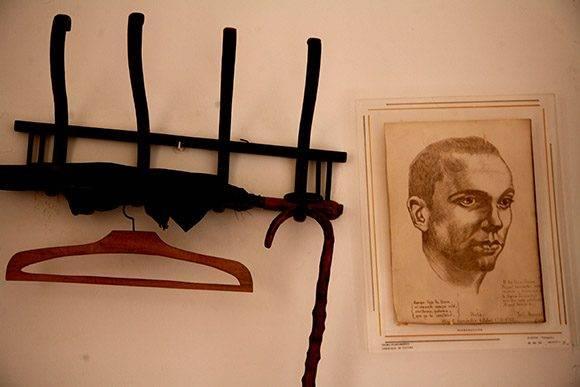 Detalles de la habitación de Miguel Hernández. Foto: Jennifer Romero.
