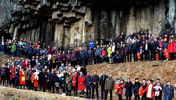Foto: Ciudadano chino logra reunir más de 500 familiares en una foto: Zhang Liangzong/Weibo/Vía Mashable.