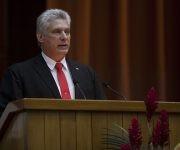 El primer vicepresidente cubano, Miguel Díaz-Canel calificó al Congreso como un espacio para el fortalecimiento de la identidad cultural de los pueblos. Foto: Ladyrene Pérez/ Cubadebate.