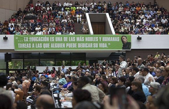 Pedagogía 2017 contó con la participación de más de tres mil delegados de 51 países. Foto: Ladyrene Pérez/ Cubadebate.