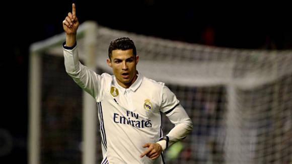 Cristiano Ronaldo anotó el primer gol del encuentro. Foto tomada de Marca.