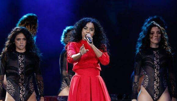 Danay Suárez, la talentosa rapera cubana que deslumbra en Viña del Mar 2017. Foto: @eldesconcierto