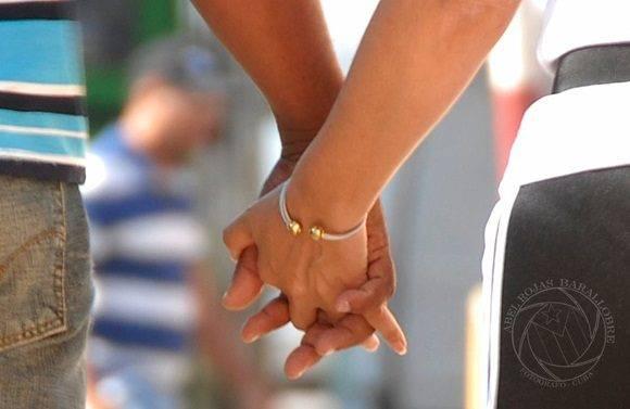 Día de los enamorados. Foto: Abel Rojas/ Juventud Rebelde.