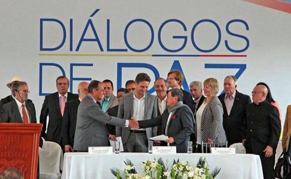Resultado de imagen para mesa de paz eln gobierno colombia