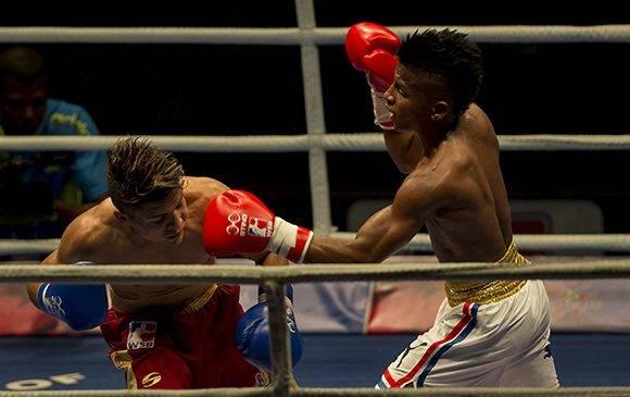 El 49 kg Johanys Argilagos derrotó a Jefferson José Blanco. Foto: Ismael Francisco/ Cubadebate.