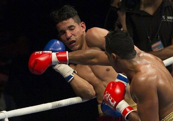 El 75 kg Arlen lopez derrotó a Keiber Gonzalez. Foto: Ismael Francisco/ Cubadebate.