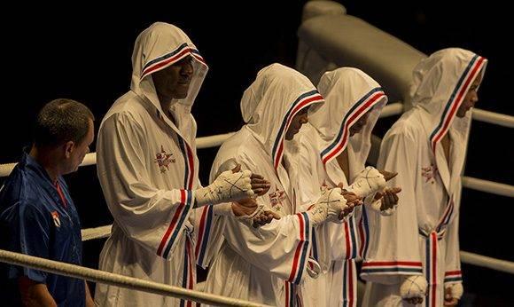 Escuadra de Boxeo Domadores de Cuba. Foto: Ismael Francisco/ Cubadebate.