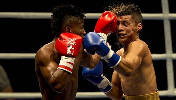49 kg Johanys Argilagos derroto a Jefferson José Blanco. Foto: Ismael Francisco.