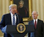 Tras conocer que había perdido la apelación, Trump ofreció una conferencia de prensa. Foto: Reuters.