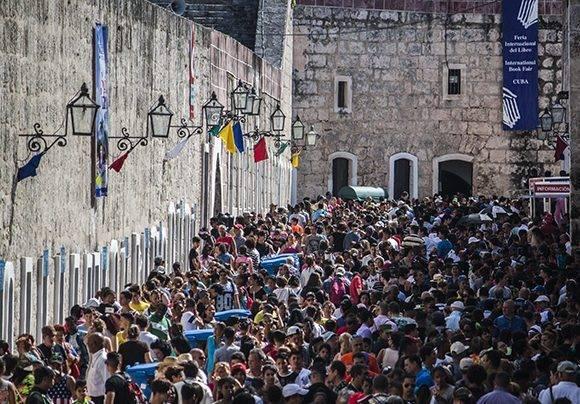 La Feria del Libro en su edición de 2017. Foto: L Eduardo Domínguez/ Cubadebate.