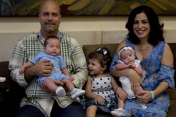La familia completa. Foto: Ismael Francisco/Cubadebate.
