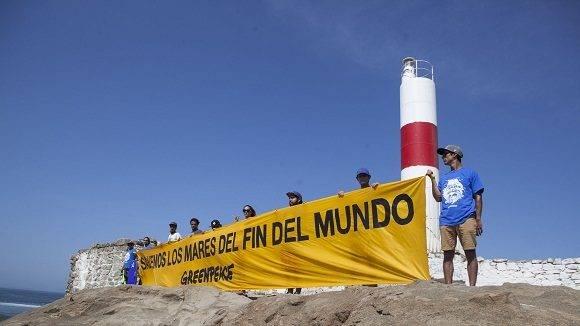 Greenpeace ha anunciado hoy el lanzamiento de una campaña mundial que se focalizará en la protección de los mares de la Patagonia chilena. La actividad congregó a cientos de personas y activistas que se reunieron hoy en faros de todo Chile, a través de casi 4.000 kilómetros, para reclamar por la protección de los ecosistemas de los mares australes del país.