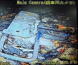 Fotografía del interior del reactor.
