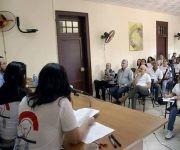 II Encuentro de Jóvenes Periodistas contó con la presencia del vicepresidente cubano Miguel Díaz-Canel. Foto: Yoandry Ávila/ Cuba Periodistas.